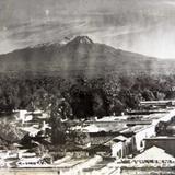 Volcan de Colima Hacia 1945