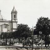 La Catefral de  Colima Hacia 1900