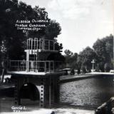 Alberca Parque Guadiana Hacia 1945