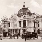 Palacio de Bellas Artes en construcci�n
