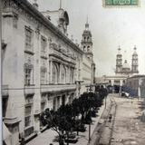Escena Callejera  Hacia 1910
