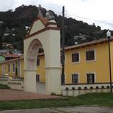 Arco del atrio. Julio/2014