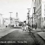Calle Hidalgo Hacia 1945