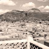 Zacatecas, vista panor�mica, Cerro de la Bufa al fondo
