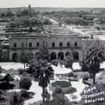 PLAZA CONSTITUCION Hacia 1945