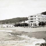 HOTEL FRENTE A LA PLAYA Hacia 1945