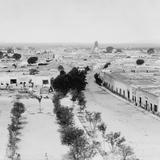 Vista panor�mica de Quer�taro (por William Henry Jackson, c. 1888)