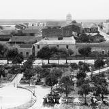Vista panorámica de Tampico desde la Catedral II (por William Henry Jackson, c. 1888)