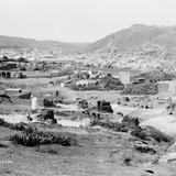 Vista panor�mica de Zacatecas (por William Henry Jackson, c. 1888)