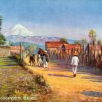 Al pié del Popocatépetl