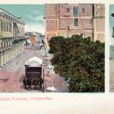 Calle principal de Colima