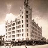 Hotel Monterrey, en la esquina de Morelos y Zaragoza