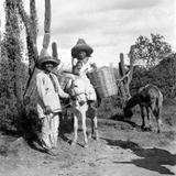 Familia ind�gena en Oaxaca