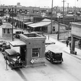 Cruce internacional con Caléxico, California (1929)