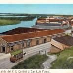 Salida del Ferrocarril Central a San Luis Potos�
