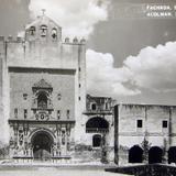 Fachada Ex convento de San Agustin Hacia 1930