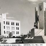 Mto. a Escobedo y Palacio Federal Hacia 1945