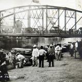 PUENTE Y RIO TAMESI Hacia 1930