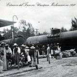 ESTACION DEL TREN Hacia 1950