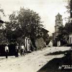 TEMPLO DE COATEPEC Hacia 1945