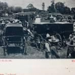 ESTACION DEL FERROCARRIL Hacia 1909