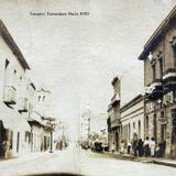 ESCENA CALLEJERA Tampico Tamaulipas Hacia 1930