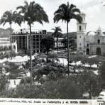 PANORAMA Y PARQUE 21 DE MAYO Hacia 1940