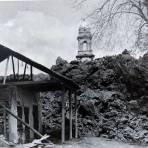 LA IGLESIA DE SAN JUAN Y LA LAVA SOLIDIFICADA Hacia 1945