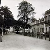 LA PLAZA PANORAMA Hacia 1945