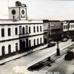AVENIDA JUAREZ  PANORAMA Hacia 1945