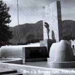 MONUMENTO A LA HERMANA AGUA Hacia 1945