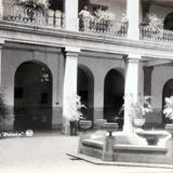INTERIOR DEL HOTEL PALACIO Hacia 1945