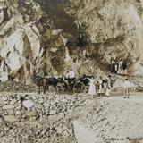 Carretera de Mazatlan Sinaloa Hacia 1908