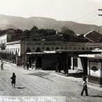 Entrada al mercado PANORAMA Hacia 1940