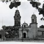 IGLESIA Y PLAZA PRINCIPAL Hacia 1945