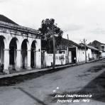CALLE INDEPENDENCIA Hacia 1945