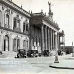 PALACIO DE GOBIERNO Hacia 1945 - Monterrey, Nuevo Le�n