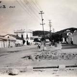 ESCENA CALLEJERA PANORAMA Hacia 1930