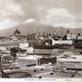 PANORAMA DEL VOLCAN POPOCATEPETL Hacia 1914
