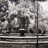 NEVADA DE 1920 Y ESTATUA DE HIDALGO Hacia 1920