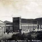 FABRICA DE METEPEC ENTRANDO A TRABAJAR PANORAMA Hacia 1930