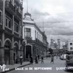 Calle 16 de sep Hacia 1945