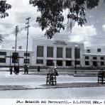 ESTACION DEL FERROCARRIL Hacia 1945