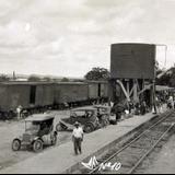 ESTACION FEROVIARIA Hacia 1930