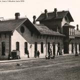 Estacion Ferroviarria de Cd. Juarez Chihuahua hacia 1900
