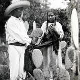 TIPOS MEXICANOS LOS NOVIOS Hacia 1930