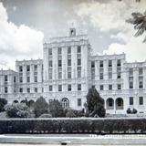 PANORAMA HOSPITAL MUGUERZA hacia 1945