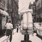 TIPOS MEXICANOS Cargador de canastos Mexico D F 1940 Hacia 1945