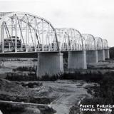 PUENTE PURIFICACION PANORAMA Hacia 1945