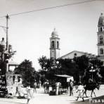 PLAZA DE ARMAS PANORAMA Hacia 1914